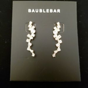 BaubleBar Farah Ear Crawler Earrings NWT